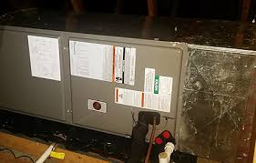 rheem air handler. rheem variable speed air handler installed with 15 seer heat pump