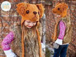Crochet Dog Hat Pattern Interesting Golden Or Labrador Retriever Leo Dog Hat Crochet Pattern PDF