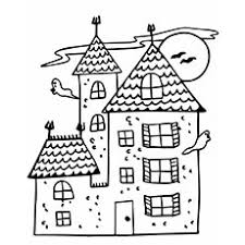 Haunted mansion coloring pages you will receive four haunted mansion themed coloring pages. Top 25 Free Printable Haunted House Coloring Pages Online