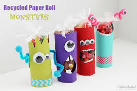 toilet paper roll crafts monsters crafts unleashed
