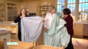 fold fitted sheet how to fold a fitted sheet martha stewart youtube