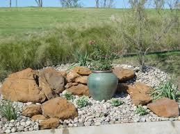 Frontyard Rock Garden Landscaping