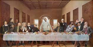 the last supper with scientists