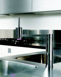 designer and modern kitchen faucets contemporary kitchen fixtures regarding high end kitchen faucets intended for encourage