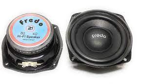 Buy FREDO 5.25 Inch Subwoofer/8Ω/Nominal Power 70 Watts/Spike Power  Tolerance 350 Watts/1 Piece/Classic Black Online - Baazaar Online
