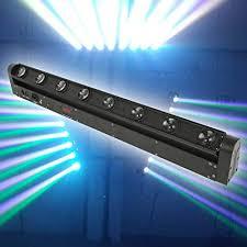 Tengchang 8X12W 100W RGBW 4in1 Beam LED Bar ... - Amazon.com