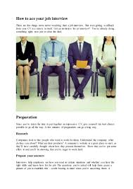How To Ace Your Job Interview Satsuma Loans Satsuma Squeeze