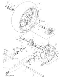 2011 yamaha stryker ca xvs13caco rear wheel parts best oem rear harley schematics with part numbers harley davidson rear end parts diagram