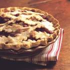 apple ginger cranberry pie