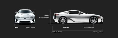 lexus lfa supercar technical specifications lexus com lfa specs