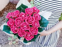 Paper Flower Bouquet Etsy Heart Shape Rose Bouquet Paper Flowers Wedding Bouquet Bridesmaid Bouquet Decoration Summer Spring Bridal Bouquet Paper Rose