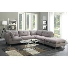 5 pc sectional sofa emerald home grey 5 piece set sectional sofas nevio 5 pc leather