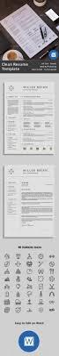 Resume Template 3 Page Cv Template Design Pinterest Cv