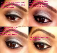 bengali bridal eye makeup soft taupe smokey eyes