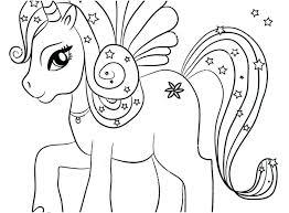Unicorn Coloring Pictures Clanfieldinfo