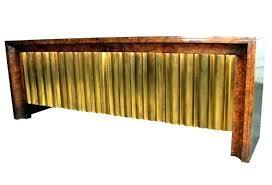 modern furniture credenza. Mastercraft Furniture Rare Burl Wood Credenza With Brass Cascading Face Mid Century Modern
