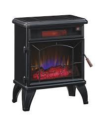 com duraflame dfi 550 0 mason freestanding infrared quartz fireplace stove black home kitchen