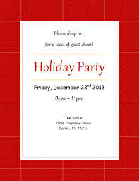 invitation templates for word  instant  holidaypartyinvitation featured template