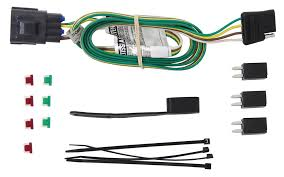 curt tconnector vehicle wiring harness with 4pole flat trailer curt t-connector vehicle wiring harness compare gap strip for westin vs curt t connector etrailer com rh origin etrailer com