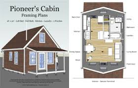 Free Small Cabin Plans By B FocklerTiny Cottage Plans