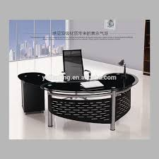 kitchen exquisite glass office furniture commercial semi circle executive desk glass office furniture for