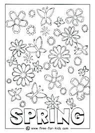 Free Printable Spring Colouring Pages Coloring Sheets Season