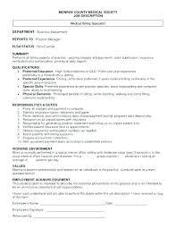 Medical Office Billing Manager Job Description Billing Resume Wikirian Com
