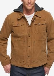 levi s men s hooded sherpa lined denim jacket