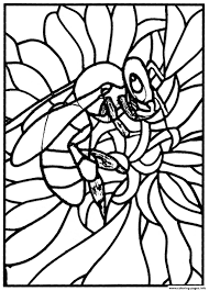 Awesome Stained Glass Disney Snow White Coloring Pages Gallery New