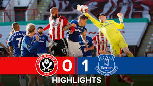 The blades are entering the final stretch of a season everyone can't wait to see the back of with the first of three games in a week. Sheffield United 0 1 Everton Premier League Highlights Richarlison Goal Downs Blades Youtube