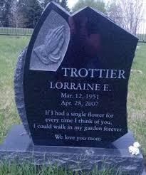 Lorraine Eleanor Rowland Trottier (1951-2007) - Find A Grave Memorial