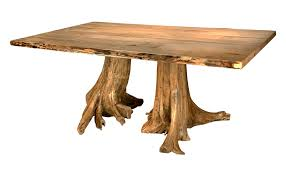 trunk table furniture. Double Stump Dining Table Trunk Furniture