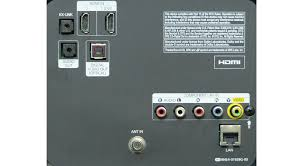 samsung tv audio out. samsung fh6030 rear inputs tv audio out