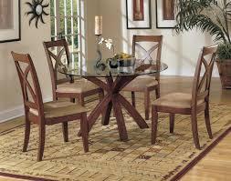 48 inch round dining table glass top