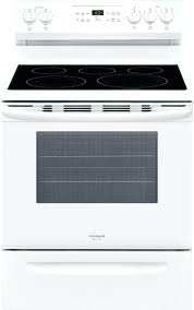 frigidaire gallery range cooking s gallery white freestanding electric convection range cu ft frigidaire gallery induction