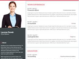 Cv Website Introduction Personal Resume Website Template By
