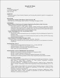 Resume Format With No Experience Templates Resume