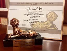 Фильм Завещание отца получил приз за лучшую режиссуру на  Фильм Завещание отца получил приз за лучшую режиссуру на кинофестивале в Оренбурге