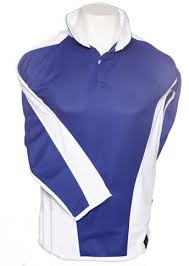 reversible rugby shirt royal white
