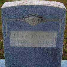 BRYANT, LULA - Cleveland County, Arkansas   LULA BRYANT - Arkansas  Gravestone Photos