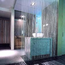 fringe rooms divider white door window panel room string curtain strip tassel in curtains from home garden on group