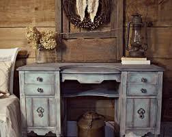 cottage chic furniture. Fine Furniture SOLD  Shabby Chic Blue U0026 Grey Gustavian Antique Vanity Desk  Dressing Table On Castors Painted Distressed Furniture For Cottage Chic Furniture