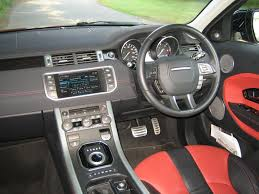 land rover evoque interior. range rover evoque sd4 2.2 diesel road test and review land interior
