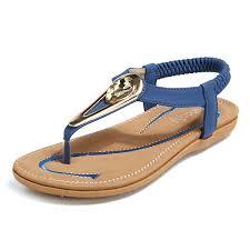Socofy Size Chart Socofy Us Size 5 11 Women Beach Outdoor Clip Toe Flat Sandals