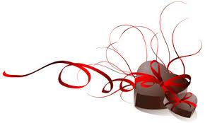 """Résultat de recherche d'images pour """"coeur de la st valentin en chocolat"""""""