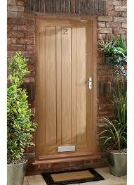 exterior oak doors uk. delamere oak panel exterior doors uk
