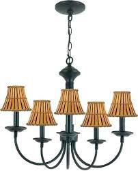 petite chandelier shades inexpensive trans globe lighting 5 light painted black chandelier with split bamboo clip petite chandelier shades