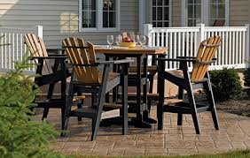 breezesta bar collection outdoor furniture recycled poly backyard patio furniture