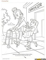 Kindness Coloring Pages Printable Coloring Pages Sheets For Kids
