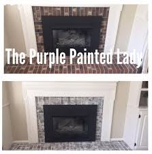 primer red chalk paint by annie sloan and java gel by general finishes debbie ballo used both and transformed her fireplace surround we love it